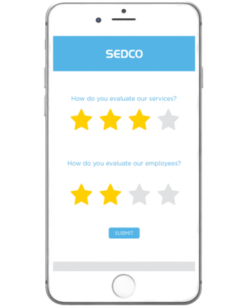 Mobile Feedback System by SEDCO