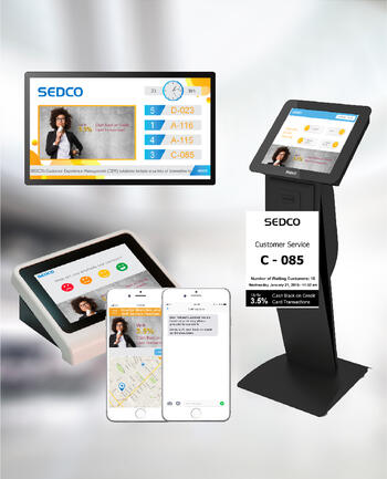 Omni-Channel Marketing for queuing system - by SEDCO