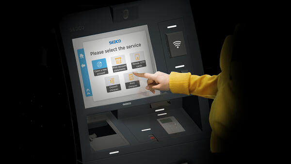 SEDCO's self-service kiosks for banks