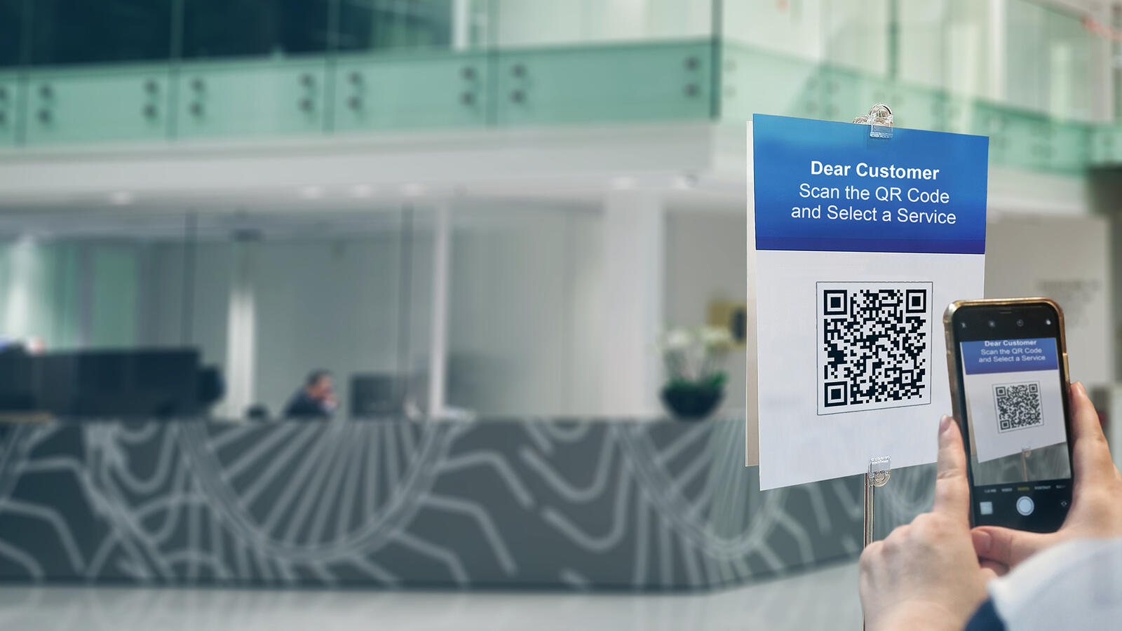 QR code screening for a safer customer journey - SEDCO